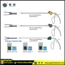 Alta calidad aplicador de clip laparoscópico con certificado CE
