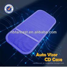 Estojo de nylon auto visor CD