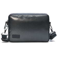 Retro Carbon fiber men bag