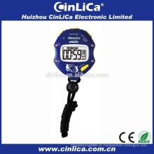 Mini-eletrônico cronômetro cronômetro com 6 jogos contagem regressiva função CT-700