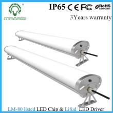 60W 1500mm LED Tri-Proof Licht 5FT mit Aluminiumgehäuse