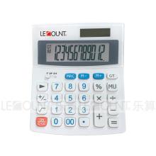 12 Digits Medium Size 12 Digits Dual Power Desktop Calculator (LC229C)