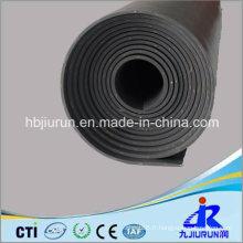 Feuille de caoutchouc de SBR d'insertion de tissu à vendre