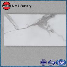 Thin white marble decorative tiles