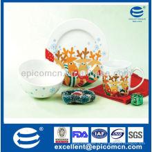 3pcs porcelana café da manhã conjunto BC8064