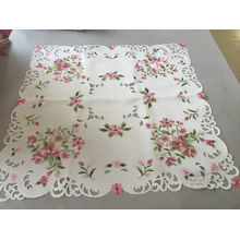 Handmade Cutwork Embroidery Style Easter Day Tablecloth
