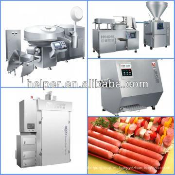 Línea de producción Hotdog