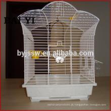 Venda por atacado de gaiolas de pássaro de pequeno fio, gaiola de pássaro dobrável para pássaros
