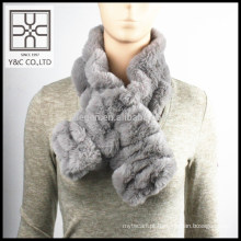 High-end Lady Elastic Falso Fur Scarf