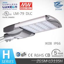 135W serie H alta calidad 5 años de garantía LED calle luz