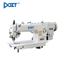 DT 0313-D3 direct drive computerized long arm top and bottom compound feed lockstitch industrial sewing machine