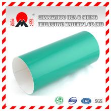 Grado de ingeniería verde reflectante láminas de vinilo para señalización de tráfico (TM7600)