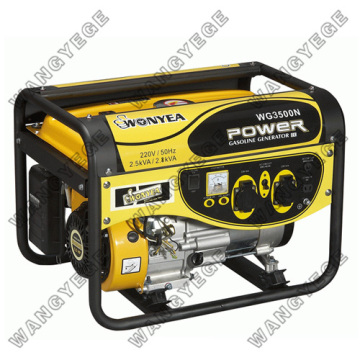 2.5kW Single Phase Gasoline Generator with 6.5HP, 4-Stroke, OHV Engine and Electric Start