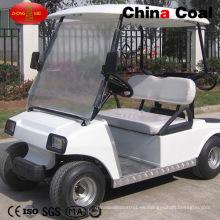 2 asientos de vehículos eléctricos con motor de vehículos de golf