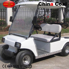 2 Seats Battery Powered Electric Vehicle Golf Cars