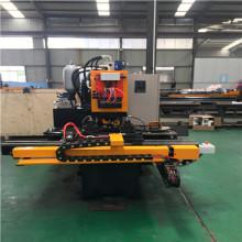 Taladradora hidráulica de placas de acero CNC YBJZ-100