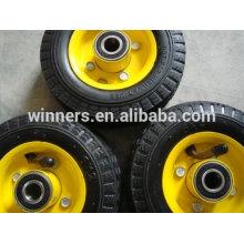 6x2 pneumatic rubber wheel for trolley