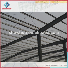 china prefabricated steel space fram function hall design