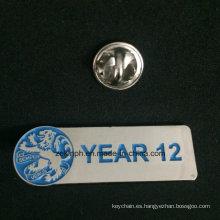 Regalos promocionales Wholesale Custom Silver Enamel Pins