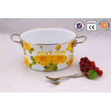 5pcs hot sale deep enamel stock pot