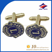 Cufflinks best seller supply custom golden lion cufflinks