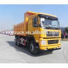Camion à benne basculante drive Dayun marque 6X4 pour 10-25 mètres cubes