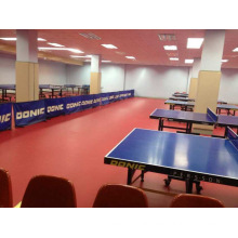 Ittf Certificate High Quality Cheap Indoor PVC Sports Roll Floor /Mat for Table Tennis 4.5 Thickness