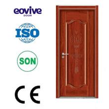 Mesquita popular porta de madeira projeto resistente porta zero/madeira molde porta