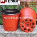 chinese supplier supply flower pot garden mould Custom plastic Garden Pot mould for Garden Pot