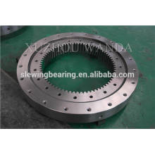 WANDA black coating turntable gear ring bearing used for swing equipment