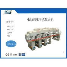 Papier, non tissé, film à haute vitesse DTY-type Laminating Machine