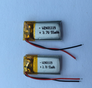 55mAh Lipo Battery For Wireless Headphones (LP1X1T4)