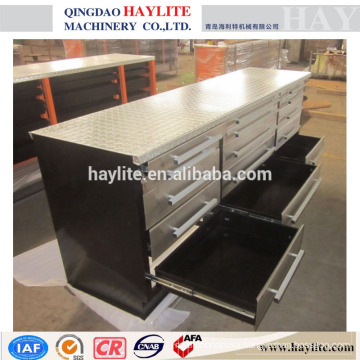 workbench used workshop stainless steel workbench heavy duty workbench with 15 drawers