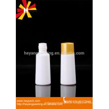 30ml garrafas de plástico único branco