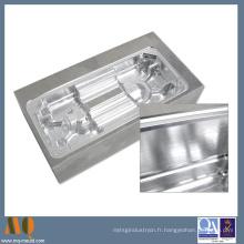 Pièces en aluminium de usinage de commande numérique par ordinateur de haute précision de prix de Dongguan