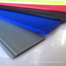 Tablero colorido de la hoja / PP plásticos del polipropileno de los PP