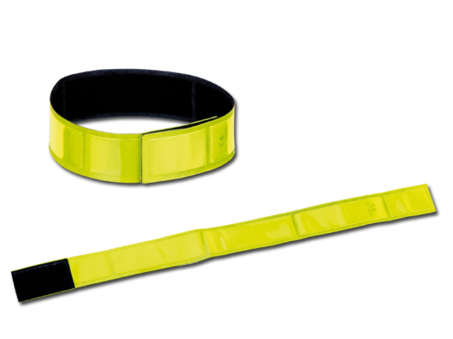 Yellow Reflexite PVC tape reflective armband