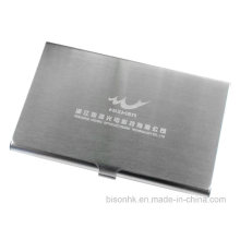 Brushed Stainless Steel Business Card Holder for Trade Fair (BS-S-003)