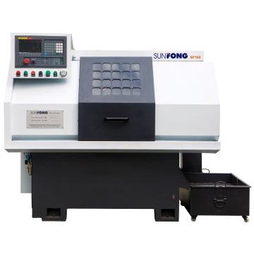 Máquina de torno de control numérico económica