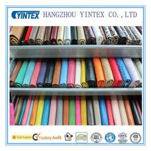 Tissu en coton et polyester mélangé de haute qualité