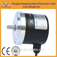 Encodeur rotatif hengxiang S70 Longueur de mesure Encodeur Incrémentaire Solid Shaft LF push pull circuit DC12V