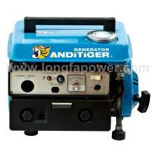 Pequeño generador de poco ruido 450W para acampar