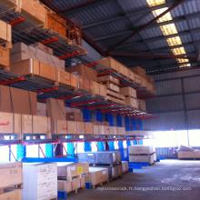 De haute qualité double-côté stockage robuste Cantilever rayonnages