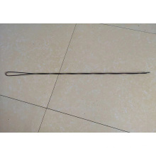 Black high tensile strength bale tie wire