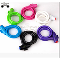 colorful bike accessories lock for mountain bike sale