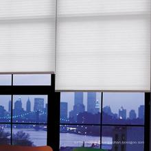Cortinas de cortina de nido de abeja de color liso, cortinas de oficina y persianas