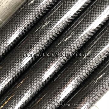 polos do vácuo da calha da fibra do carbono pólo do vácuo da fibra do carbono de /10.5M para a limpeza do telhado da calha