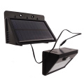 Split Type Indoor Solar Lamp Outdoor Use Motion Sensor Wall Light LED Security Lighting with Extra Long Extension Cords