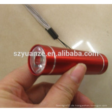 Großhandelsmini-heißer Verkauf führte Taschenlampe