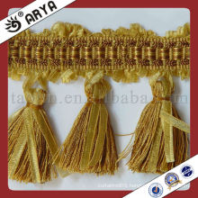 Fringes and Trims in Tassel Fringe Trimming Used for Tapestry and sofa ,cushion
